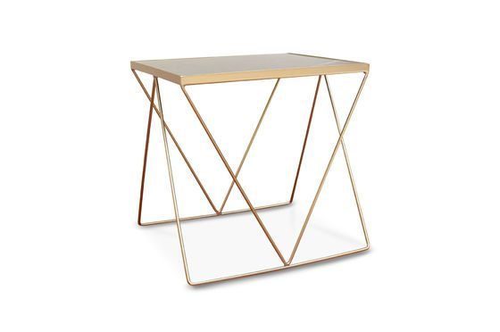 Table d'appoint dorée Bumcello Détouré