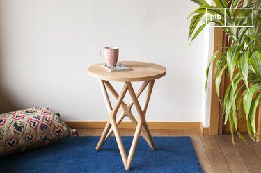Table d'appoint en bois Estrella