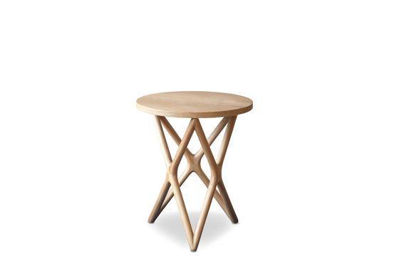Table d'appoint en bois Estrella Détouré