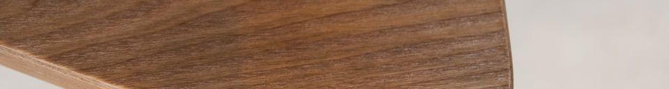 Mise en avant matière Table d'appoint en bois Fleetwood