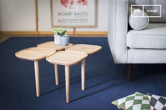 Table d'appoint en bois Kädri