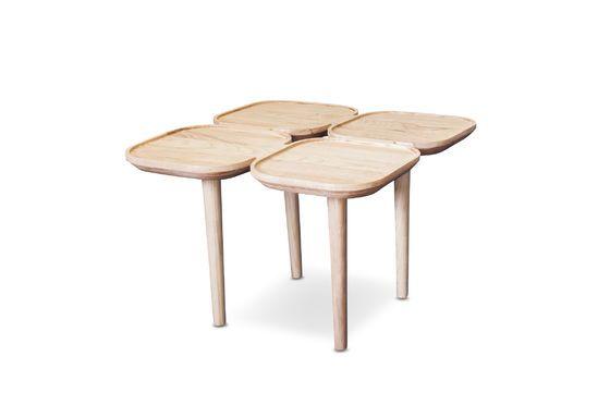 Table d'appoint en bois Kädri Détouré