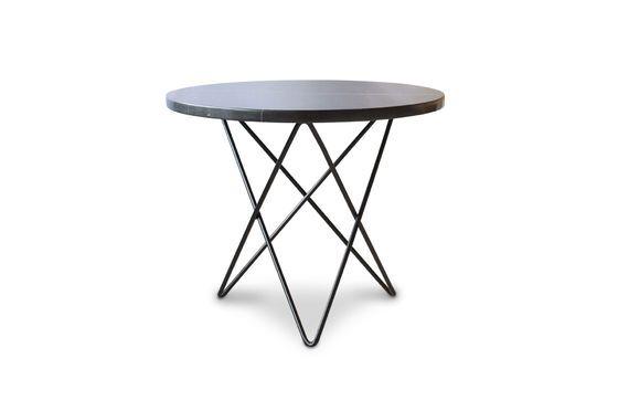 Table d'appoint en marbre noir Aouthenn Détouré