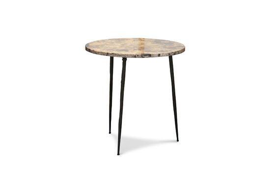 Table d'appoint en marbre Vilma Détouré