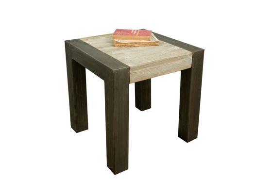 Table d'appoint en teck recyclé Détouré