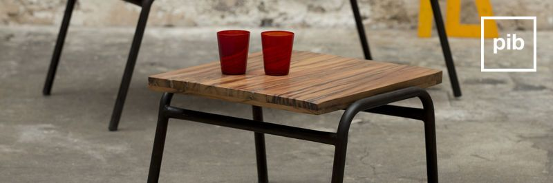 Table d'appoint industrielle