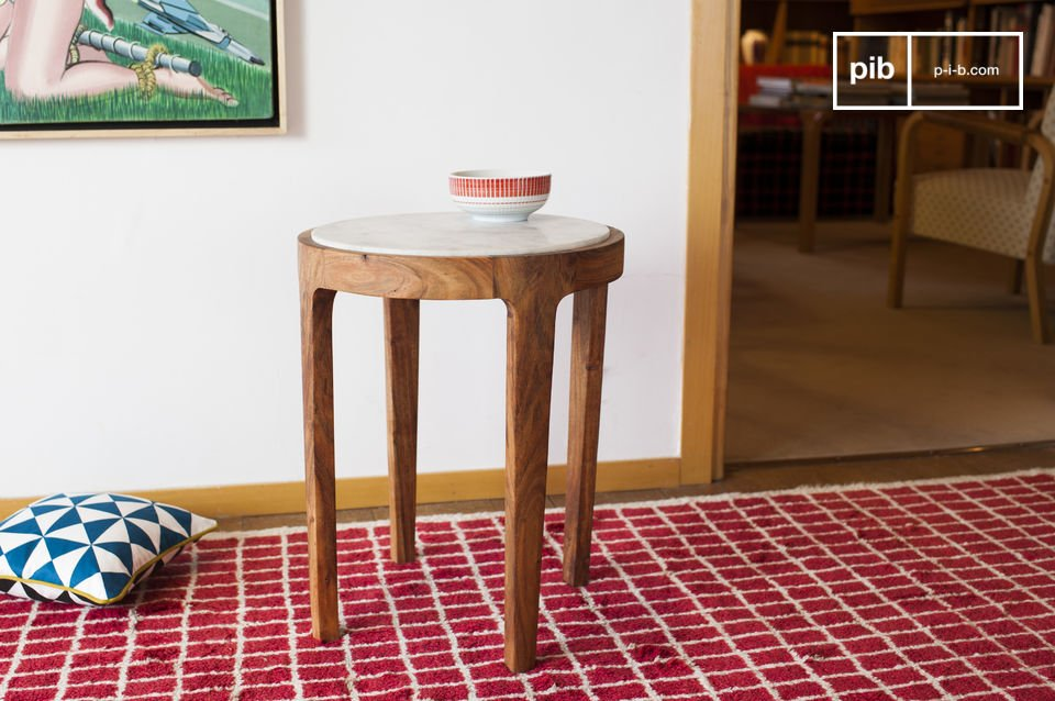 Table d'appoint ronde Marmori