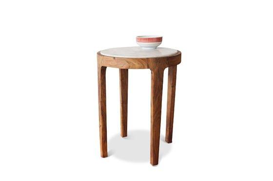 Table d'appoint ronde Marmori Détouré
