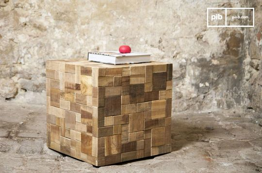 Table d'appoint Rubique