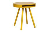 Table d'appoint Secret Hair Jaune