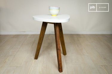 Table d'appoint Stockholm blanche