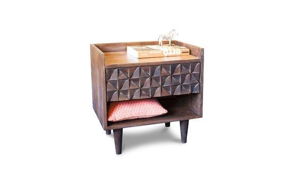 Table de chevet en bois Balkis Détouré