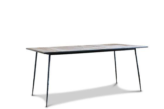 Table de repas en bois et métal Sherman Détouré