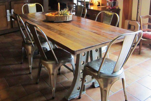 Table de repas Normandie par Nancy