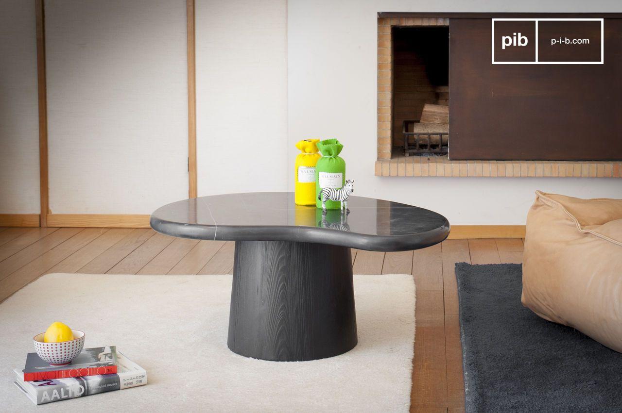 Table de salon en marbre Fassola