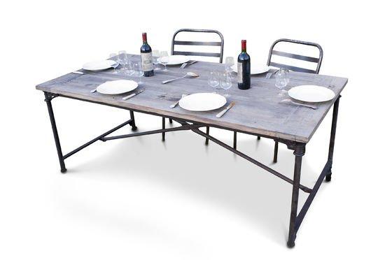 Table de tapissier en orme ancien Détouré
