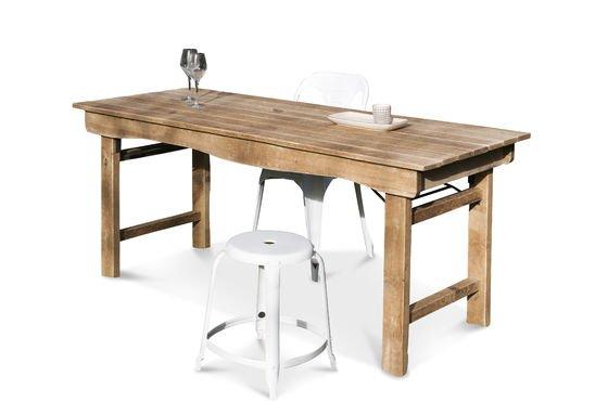 Table en bois Elise Détouré