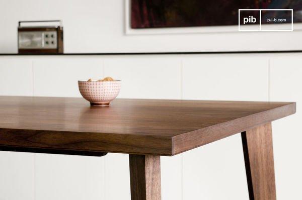 table bois design noten