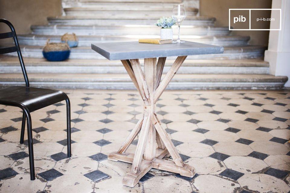 Table en bois Sépia