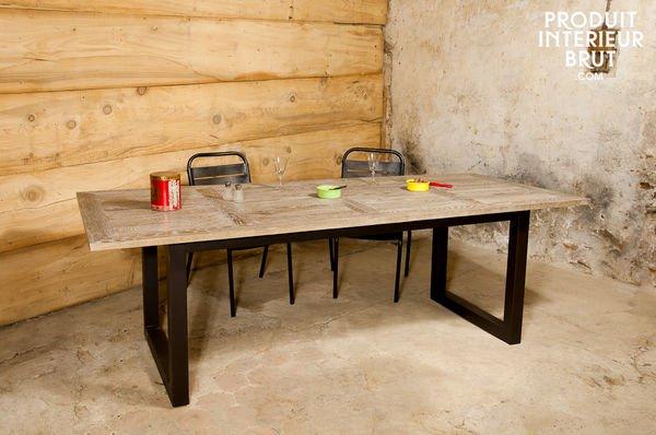 Table en chêne cluny