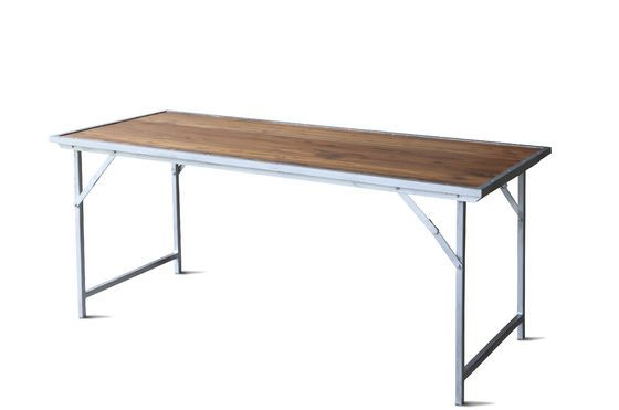 Table en teck Bollène Détouré
