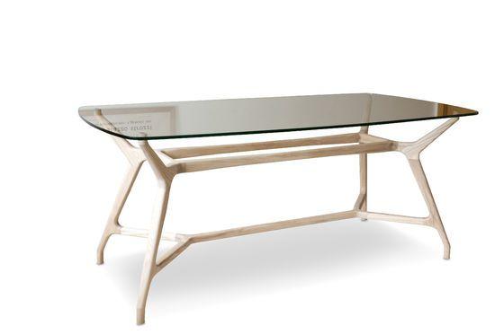 Table en verre rectangulaire Nixon Détouré