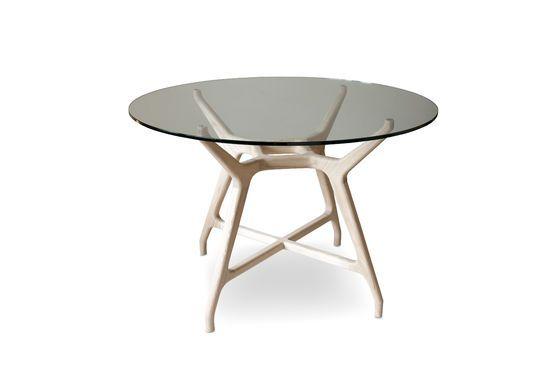 Table en verre ronde Nixon Détouré