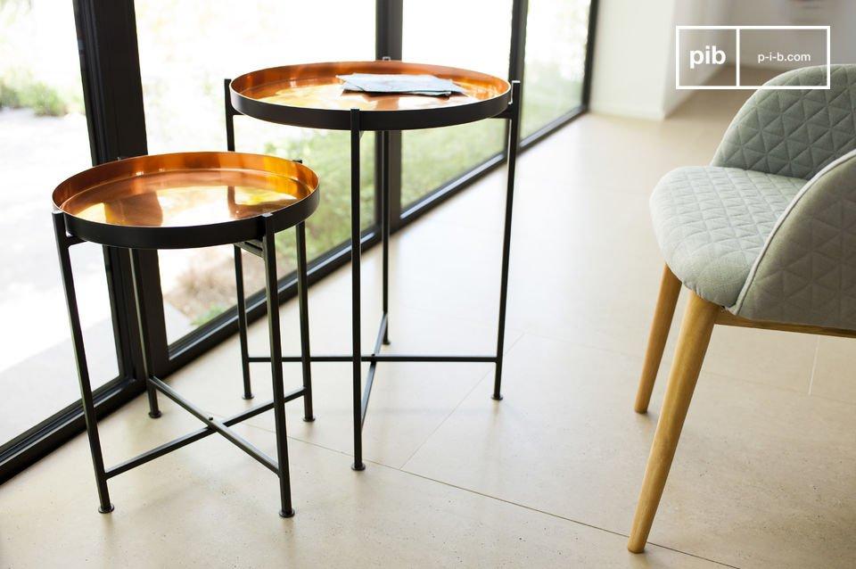 Table gigogne lloyd praticit d 39 une table modulable pib - Petite table gigogne ...