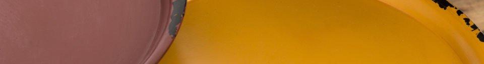 Mise en avant matière Table Gigogne tricolore