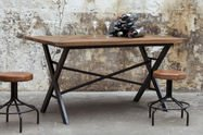 Table industrielle Cadé 180 cm