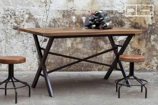 Table industrielle Cadé 180 cm