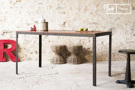 Table industrielle Masaï