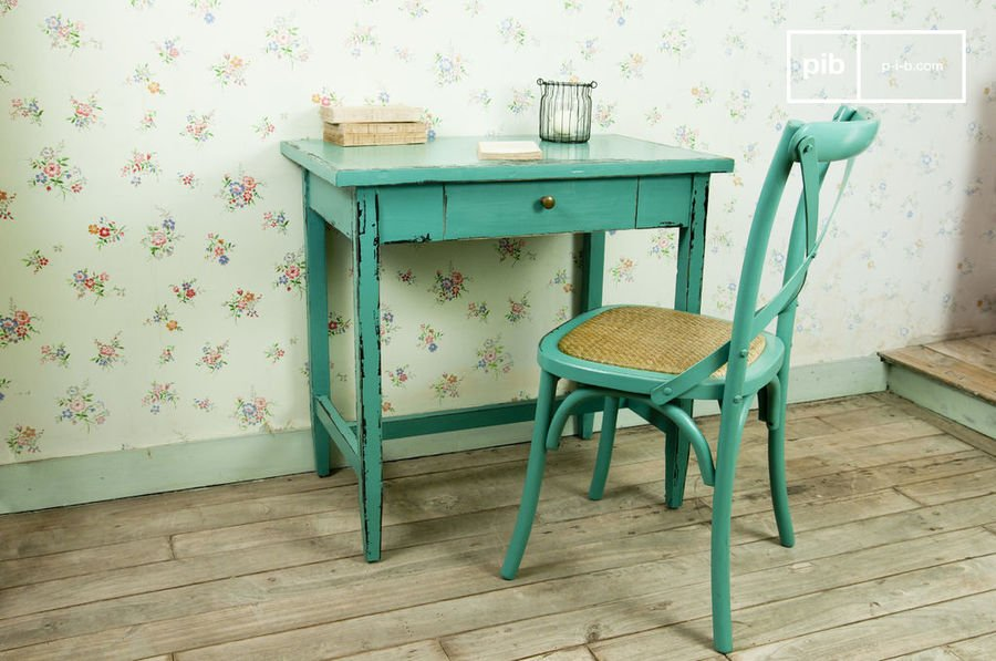 Table Lila turquoise