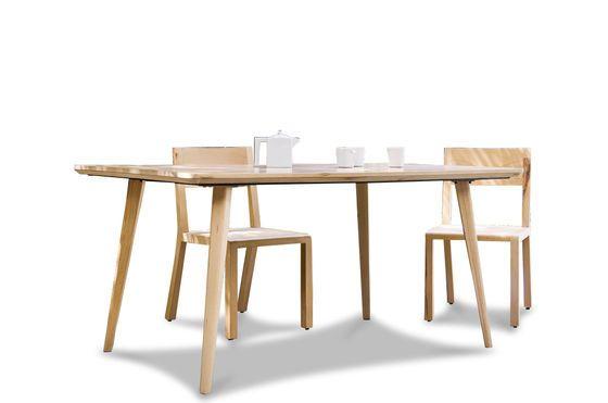 Table Möka hêtre 160cm Détouré