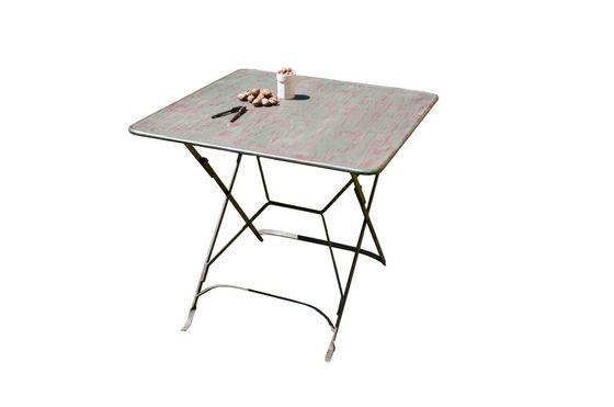 Table pliante style vintage Détouré