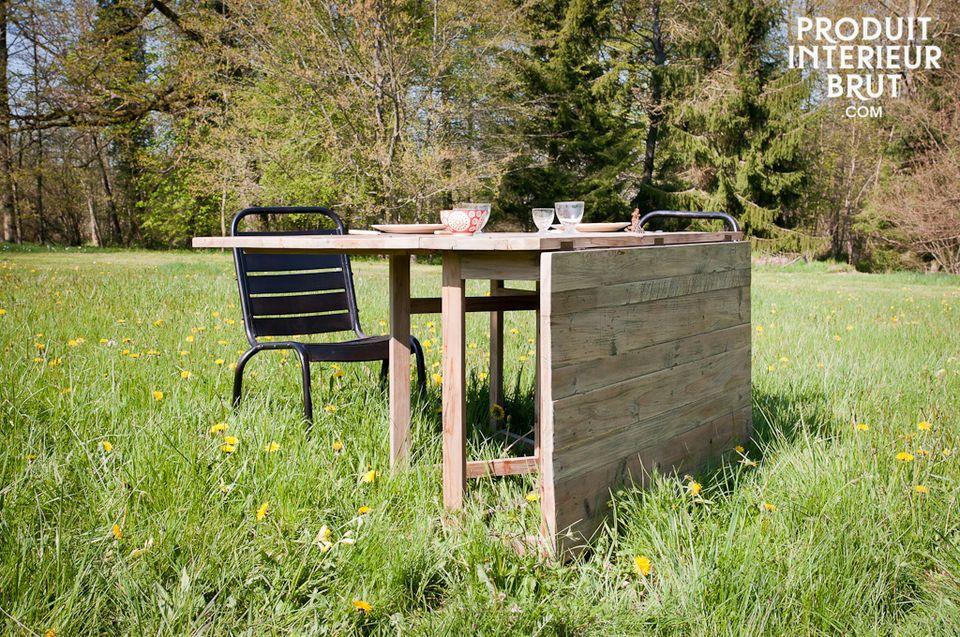 Une grande table modulable pour toutes les occasions
