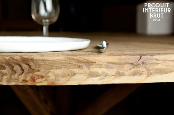 Table rustique en bois