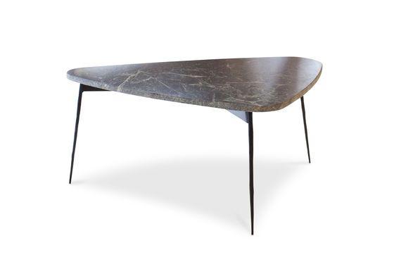Table tripode en marbre vert Maybury Détouré