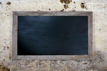 Tableau noir de brasserie 115x190cm