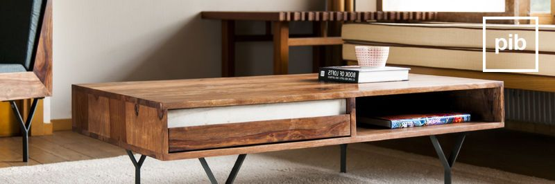 Tables basses avec rangements