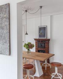 Tabourets industriel avec assise cuir