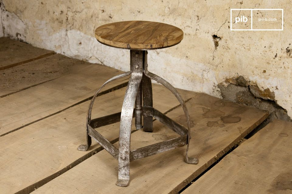 Tabouret industriel Lateque