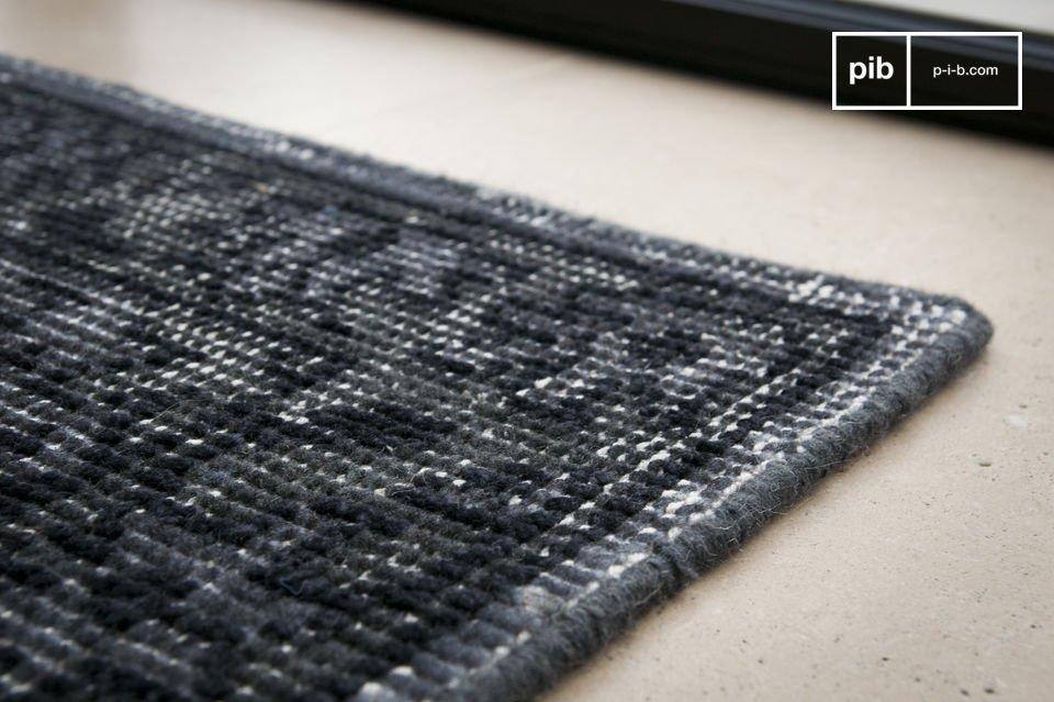 Look délavé. 100% laine