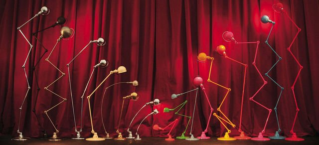 tous les modèles de lampes Jieldé