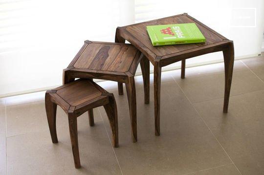 Trio de tables Luna