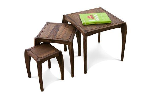 Trio de tables Luna Détouré