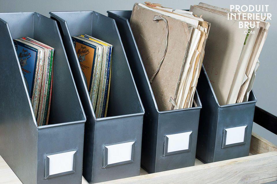 Parfaits pour ranger des documents sur vos étagères