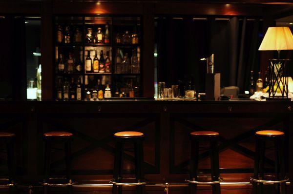 un bar au style vintage