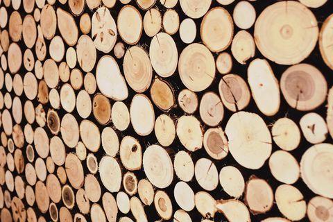 Un mur en bois