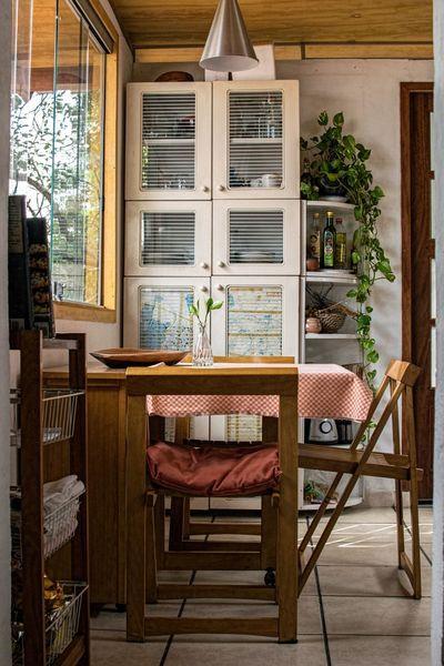 Un salon en bois